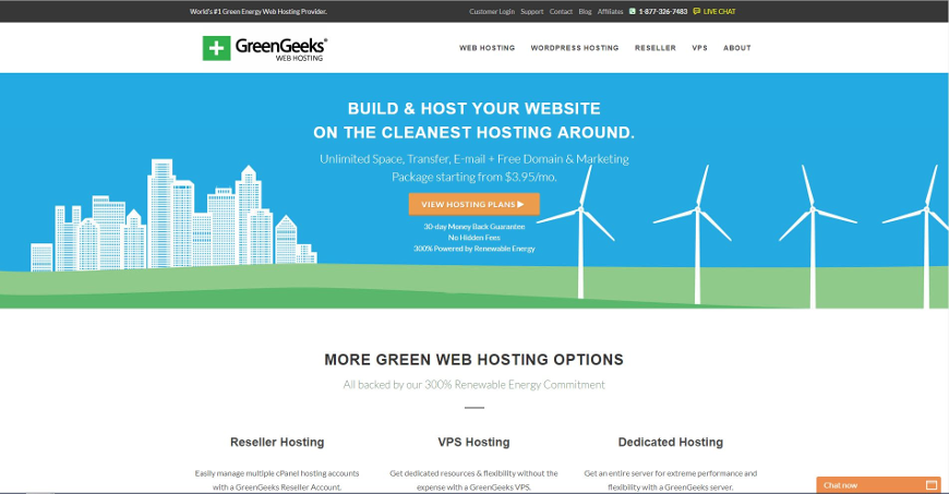 greengeeks screenshot