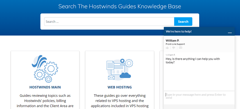 Hostwinds Support