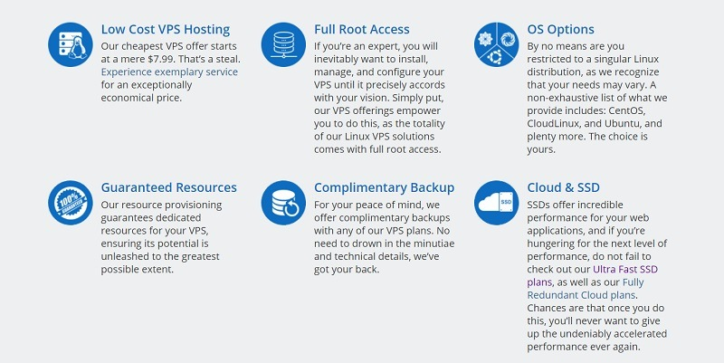 AccuWebHosting features
